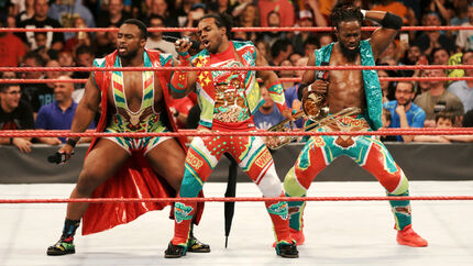 New Day dancing RAW