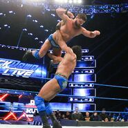 Roode battles back by launching himself onto Mahal