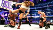 Bryan kickin both Orton and Batista