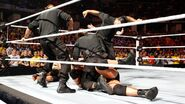 Ryback and John-Cena attacked by Shield