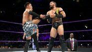Tozawa tried kicking Neville