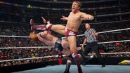 Daniel-Bryan kick to Heath-Slater