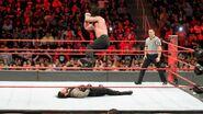 Elias elbow drop off the turnbuckle