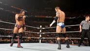 Neville staring at Barrett