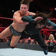 Miz putting Jeff-Hardy in the Skull-Crushing Finale