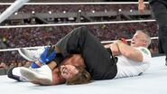 Styles in a arm lock by Shane-McMahon