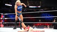 Charlotte bout to put Bliss in submission