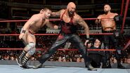 Karl-Anderson and Luke-Gallows battling Dash-Wilder