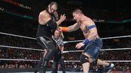 John-Cena strikes on Baron-Corbin