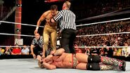 Jericho attacked by Fandango