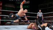 Cena five-knuckle shuffle on Rusev