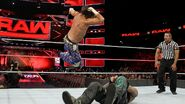 Matt-Hardy elbow drop on Gallows