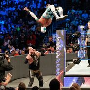 Sin Cara dazzles the WWE Universe with a breathtaking moonsault off the top rope