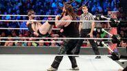 Finn-Balor dropkick Bray-Wyatt