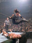 Undertaker against Randy Orton WrestleMania 21