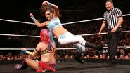 Asuka against Bayley TO BTB02