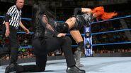 Becky kick Tamina