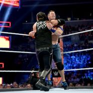 Corbin cornered John-Cena