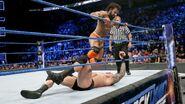 Jinder-Mahal stompin Orton