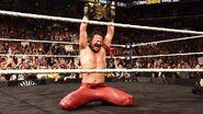 Nakamura winning the NXT Champions