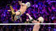 Kalisto takes to the sky to level Enzo-Amore