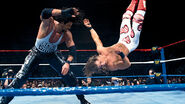 Diesel thrown Shawn Michaels onto the mat