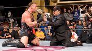 Rob-Van-Dam winning the WWE Championship