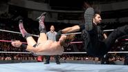 Rollins taken Miz down