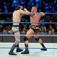 Orton battles back fighting to English