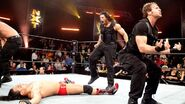 Reigns Rollins and Ambrose destoryed Bo Dallas