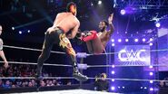 Swann jump kick to Dorado