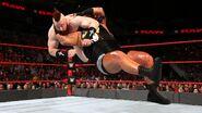 Rhyno back slammed Sheamus