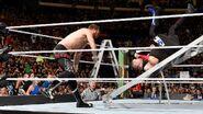 Sami throw Owens