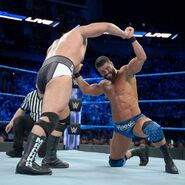 Rusev and Roode struggle to gain the upper hand