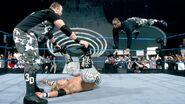 Dudley-Boyz headbutt on Edge