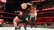 Joe reversed sweep on Rhyno