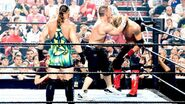 RVD Edge John-Cena in a triple-threat RAW