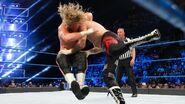 Ziggler hits a DDT on Zayn