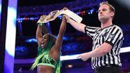 Naomi as two-time SD-Womens Champion