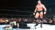 Brock destoryed Jeff-Hardy