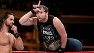 Dean-Ambrose with L on his forehead