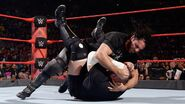 Seth-Rollins attacking Joe