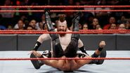 Sheamus powerbomb Rollins