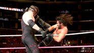 Rollins kick Kane
