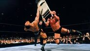 Steve-Austin hit The Rock with a chair