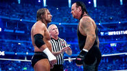 Triple H face to face Undertaker