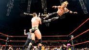 Edge jump kicked Randy-Orton Raw 04