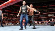 Axel toss Dean-Ambrose