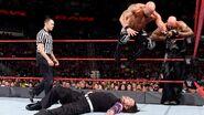 Karl and Luke hitting Jeff