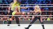 Natalya pulled Naomi leg
